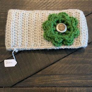 Homemade crochet Baby headband flower OS